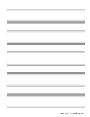 10 Portées musicales