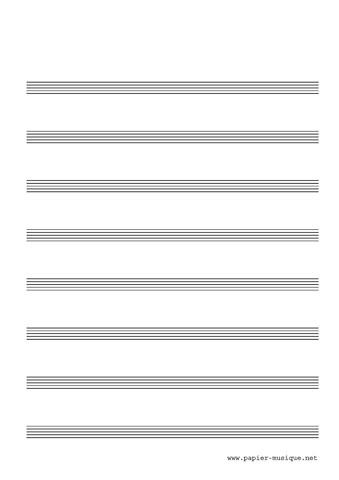 8 Portées musicales
