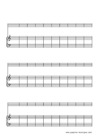 30 mesures piano instruement sans clé